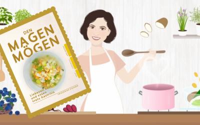 Das 1. spezielle Kochbuch für Gastritis, den Magen mögen ist endlich da!!!