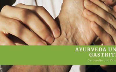 Gastritis mit Ayurveda behandeln.